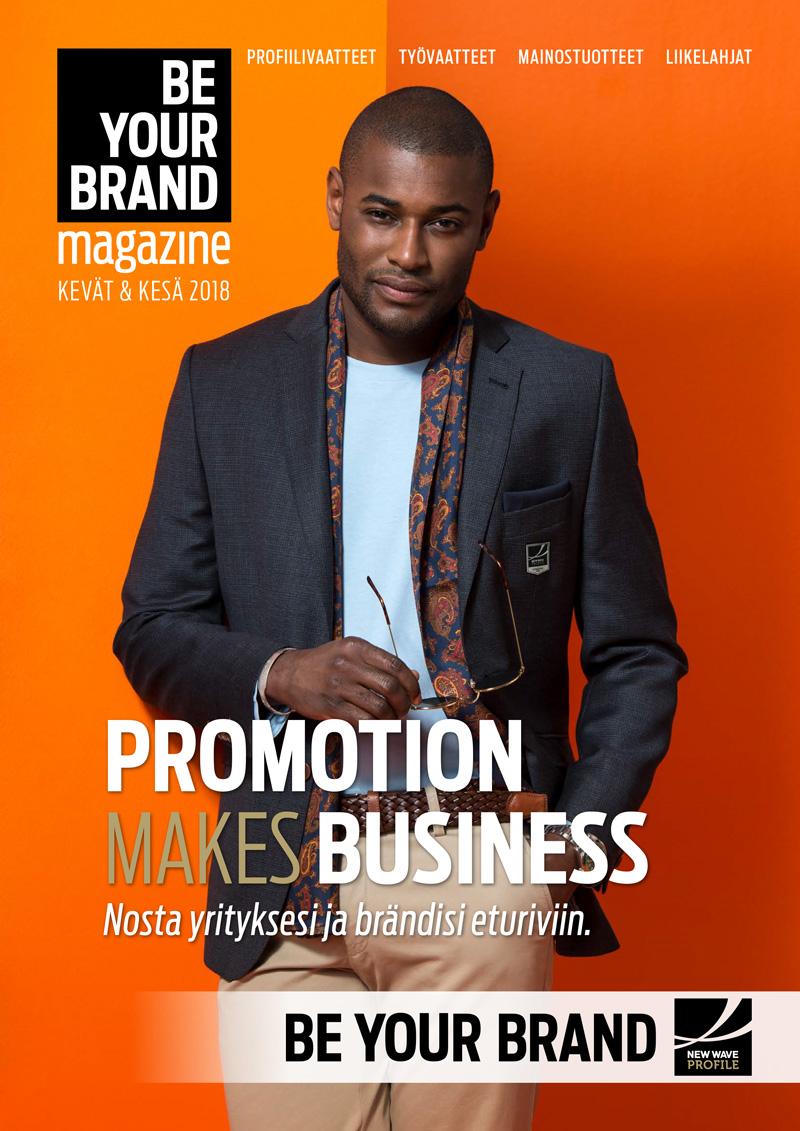Be Your Brand<br> MAGAZINE <br>Kevät / Kesä <br>2018